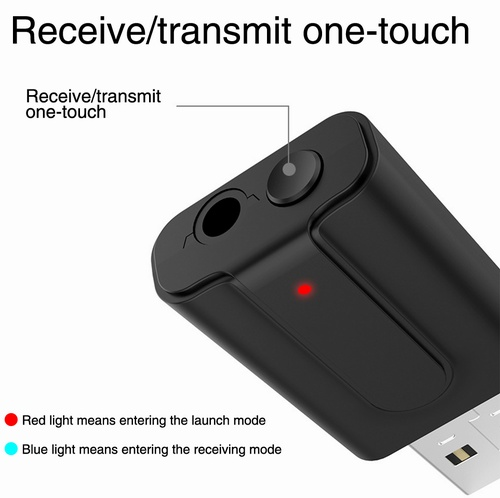 Wireless Audio Bluetooth Transmitter Music Adapter for TV Bluetooth 4.2 RX-TX T10