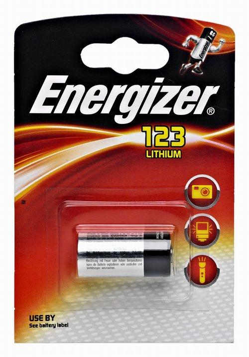 Батарейка CR123A - Kodak Ultra CR123A 3V BL1 (1 штука)