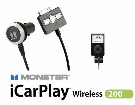 iPod аксессуары Monster iCarPlay Wireless 200 transmitter